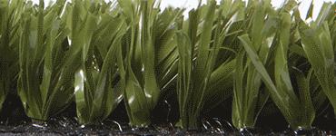 Изображение фибриллированного травяного покрытия в зеленом цвете с длиной ворса 15 мм